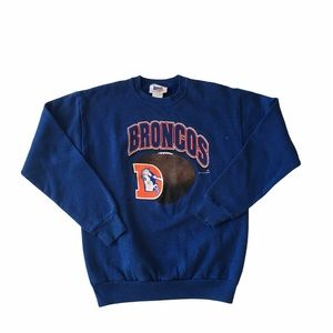 96 Denver Broncos Youth XLarge Sweater